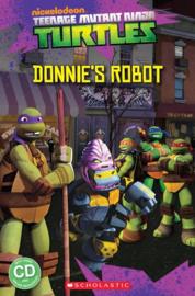 Teenage Mutant Ninja Turtles: Donnie's Robot + audio-cd (Level 3)