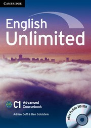 English Unlimited Advanced Coursebook with ePortfolio