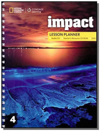 Impact 4 Lesson Planner + Audio Cd + Trcd + Dvd