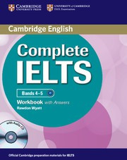 Complete IELTS Bands4-5B1 Workbook with answers with Audio CD