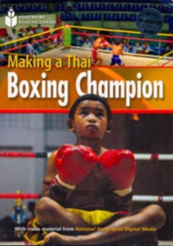 Footprint Reading Library 1000: Making Thai Boxing Champ Book With Multi-rom (x1)