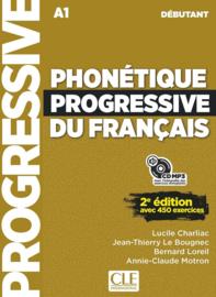 Phonétique progressive du français - Niveau débutant - Livre + CD - 2ème édition - Nouvelle couverture