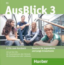 AusBlick 3 2 Audio-CDs bij het Studentenboek