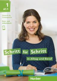 Schritt für Schritt in Alltag und Beruf 1 Studentenboek + Werkboek