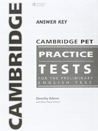 Cambridge PET Practice Test Answer Key