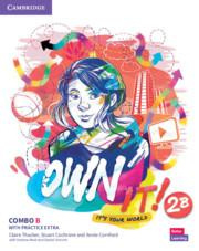 Own it! Level 2 Combo B Student's Book and Workbook with Practice Extra