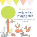 Verjaardag invulboekje bosdierenfeest (Laura van Dravik) (Paperback / softback)