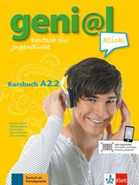 geni@l klick A2.2 Studentenboek met Audio- bij de Download