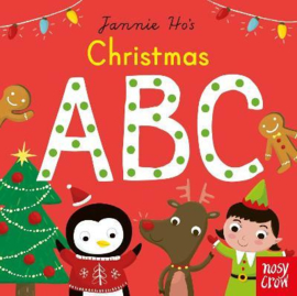 Christmas ABC (Jannie Ho) Board Book