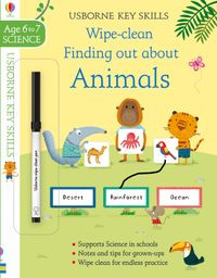 Wipe-Clean Finding Out About Animals