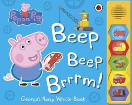 Peppa Pig: Beep Beep Brrrm! (Sound Book)