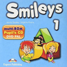 Smiles 1 Pupils Multi Rom Pal (international)
