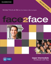 face2face Second edition UpperIntermediate Workbook with Key