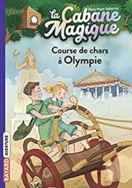La Cabane Magique Tome 11 - Course de char à Olympie