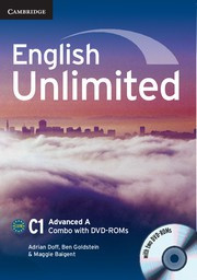 English Unlimited Combos Advanced A Combo with DVD-ROMs (2)