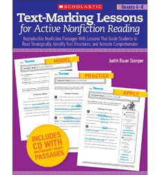 Text-Marking Lessons for Active Nonfiction Reading: Grades 4-8
