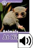 Oxford Read And Discover Level 4 Animals At Night Audio Pack