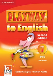 Playway to English Second edition Level1 DVD PAL