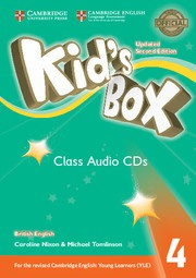 Kid's Box Updated Second edition Level4 Class Audio CDs (3)