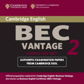 Cambridge BEC 2 Vantage  Audio CD