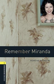 Oxford Bookworms Library Level 1 Remember Miranda Audio Pack