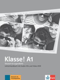 Klasse! A1 Lerarenboek met 4 Audio-CDs en 1 Video-DVD