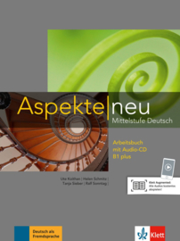 Aspekte neu B1 plus Werkboek met Audio-CD