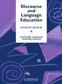 Discourse and Language Education Paperback