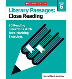 Literary Passages: Close Reading: Grade 6