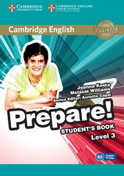 Cambridge English Prepare! Level3 Student's Book