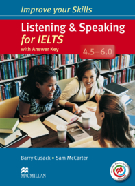 Listening & Speaking for IELTS 4.5-6 Student's Book with key & MPO Pack