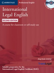 International Legal English Second edition Student's Book with Audio CDs (3)