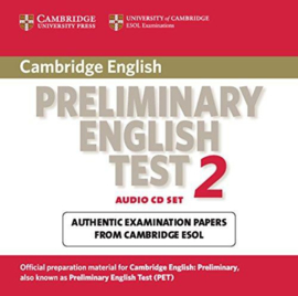 Cambridge Preliminary English Test 2 Audio CDs (2)
