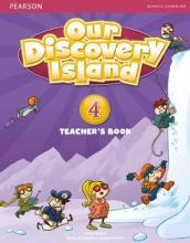 Our Discovery Island Level 4 Docentenboek met code voor leerlingvolgsysteem online spel (Engelstalig)