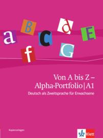 Von A bis Z - Alpha-Portfolio A1 Kopiervorlagen