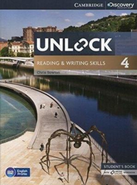 Unlock Level 4 Reading and Writing Skills Student's Book and Online Workbook