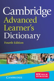 Cambridge Advanced Learner's Dictionary Fourth edition Hardback