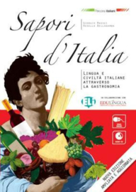 Sapori D'italia New 96-page, Larger Format Edition + Audio Cd