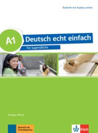 Deutsch echt einfach A1 Testheft met Audio online