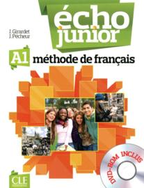 Écho Junior - Niveau A1 - Livre de lélève + DVD Rom