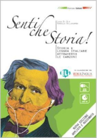 Senti Che Storia! New 96-page, Larger Format Edition + Audio Cd