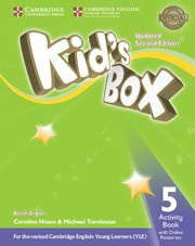 Kid's Box Updated Second edition Level5 Activity Book with Online Resources