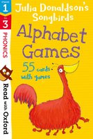 Stages 1-3: Julia Donaldson's Songbirds: Alphabet Games Flashcards