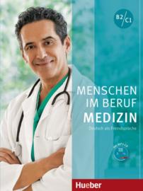 Menschen im Beruf - Geneeskunde Studentenboek met MP3-CD