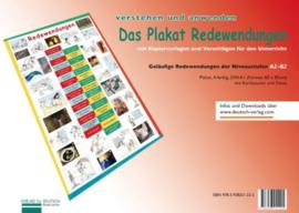 Plakat Redewendungen Übungsheft en 1 Plakat