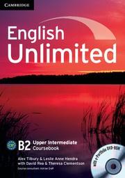 English Unlimited UpperIntermediate Coursebook with ePortfolio