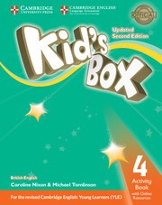 Kid's Box Updated Second edition Level4 Activity Book with Online Resources