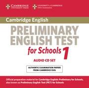 Cambridge Preliminary English Test for Schools 1 Audio CDs (2)