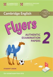 Cambridge English Young Learners 2 Flyers Student's Book
