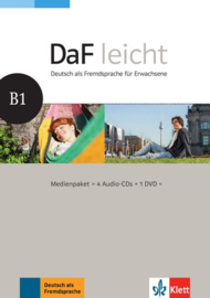 DaF leicht B1 Multimediapakket (4 Audio-CDs + 1 DVD)